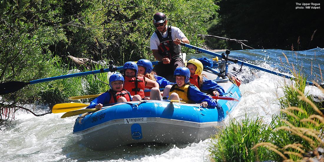 Rogue River 1/2 Day - Rogue River Rafting