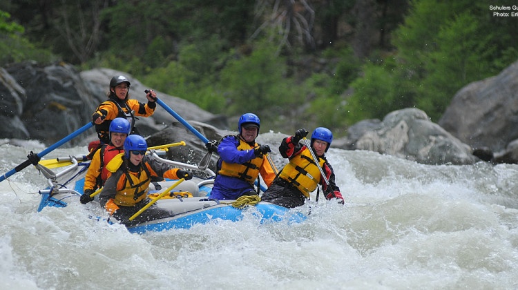 Scott River Rafting - Northern California