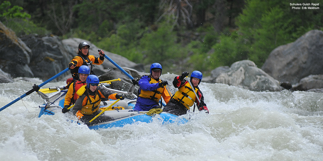 Scott River Rafting - Northern California