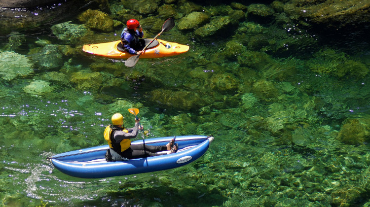 Clear Creek Kayaking - Clear Creek of the Klamath - California