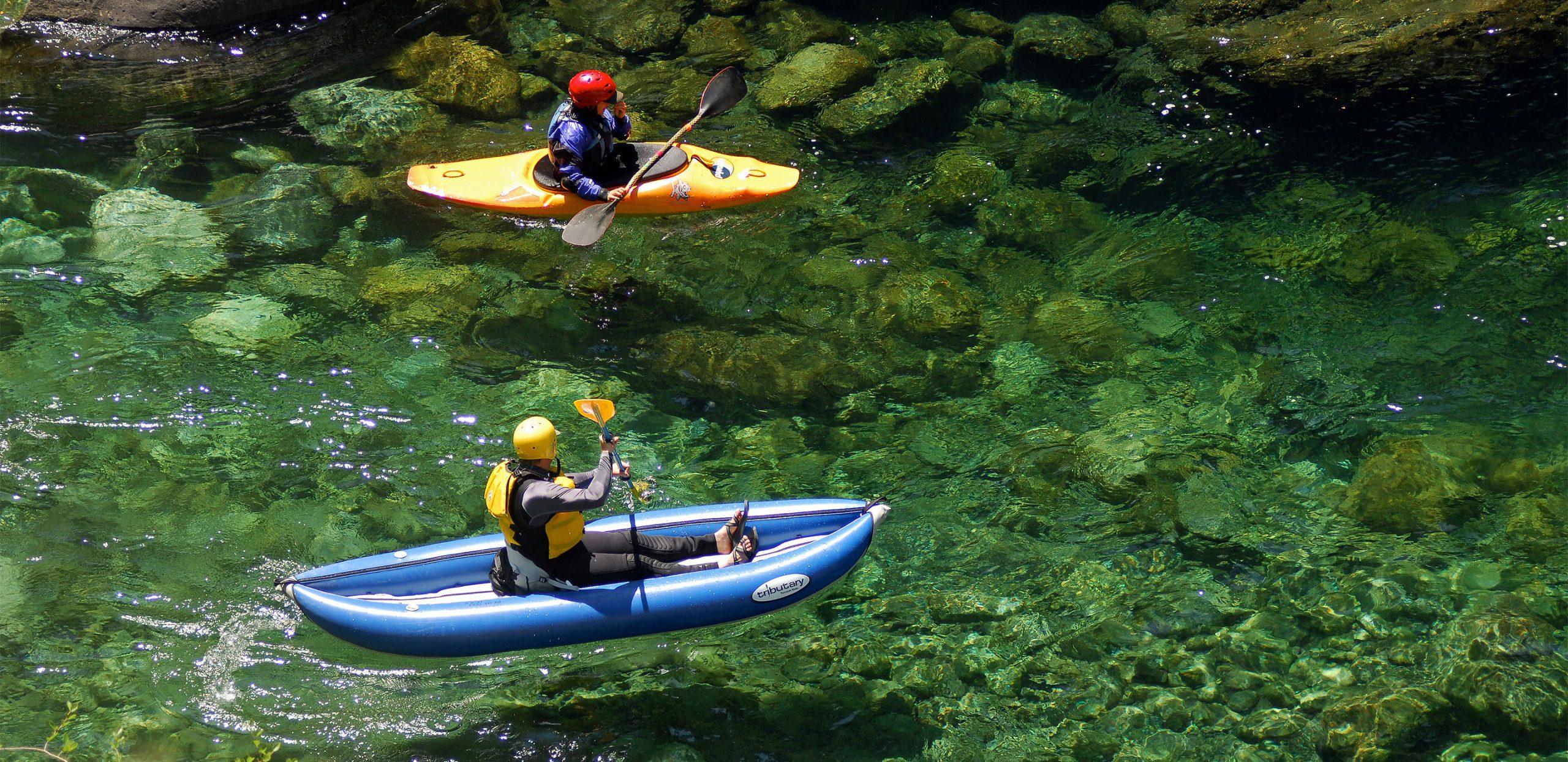 Clear Creek Kayaking - Clear Creek of the Klamath - California