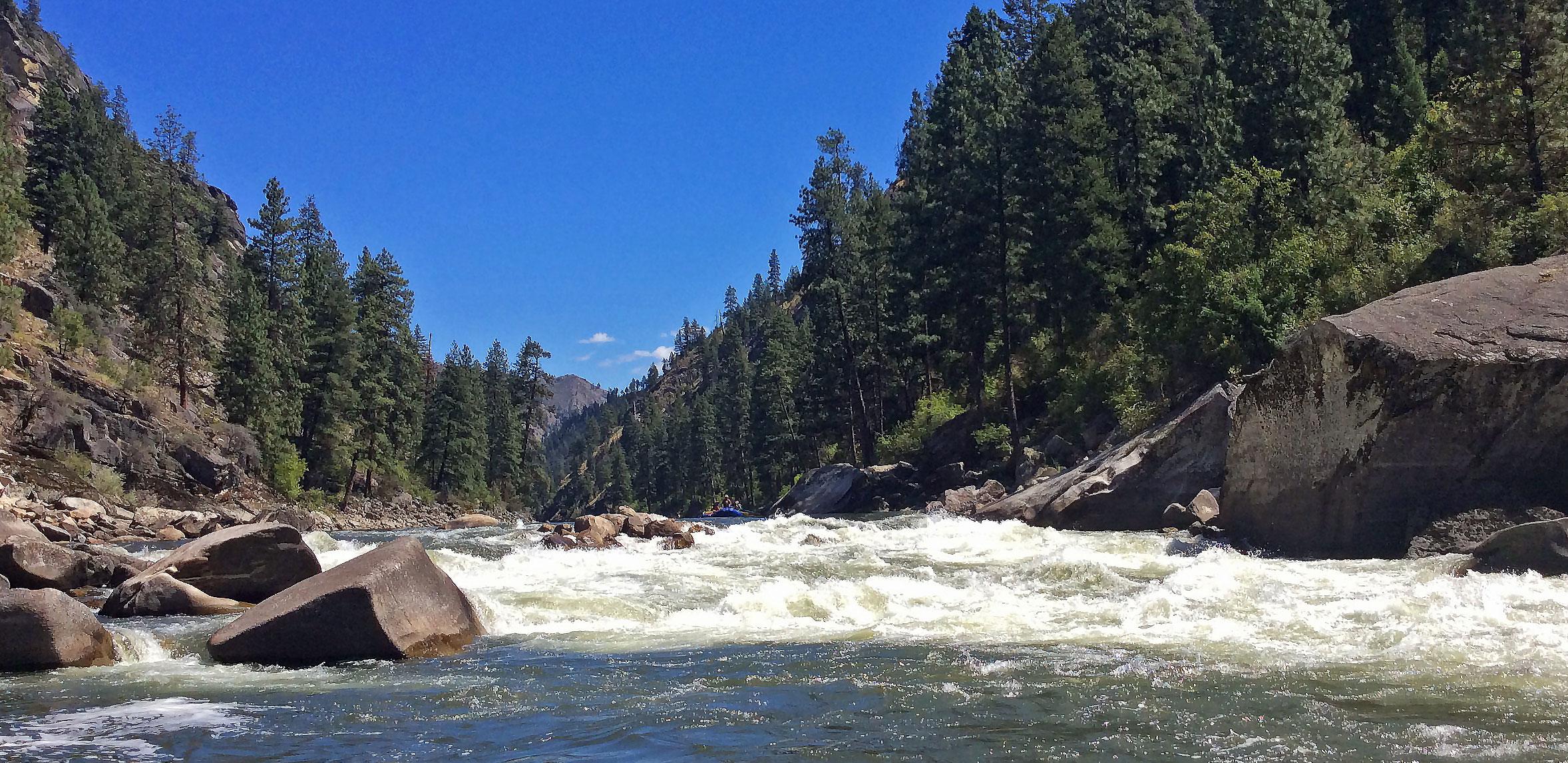 Idaho Salmon - Rafting the River of No Return