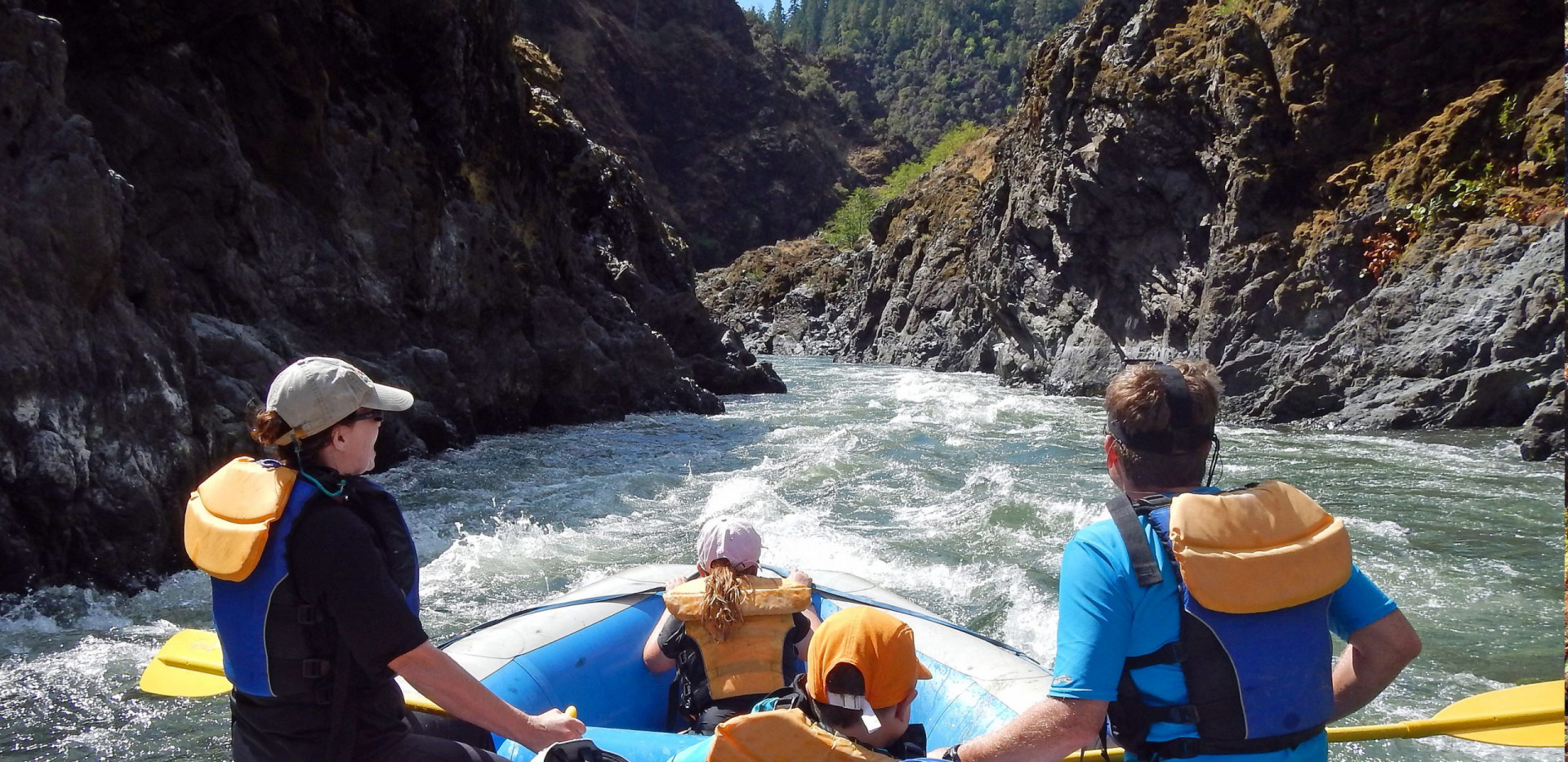 Rogue River Rafting - Oregon - Family