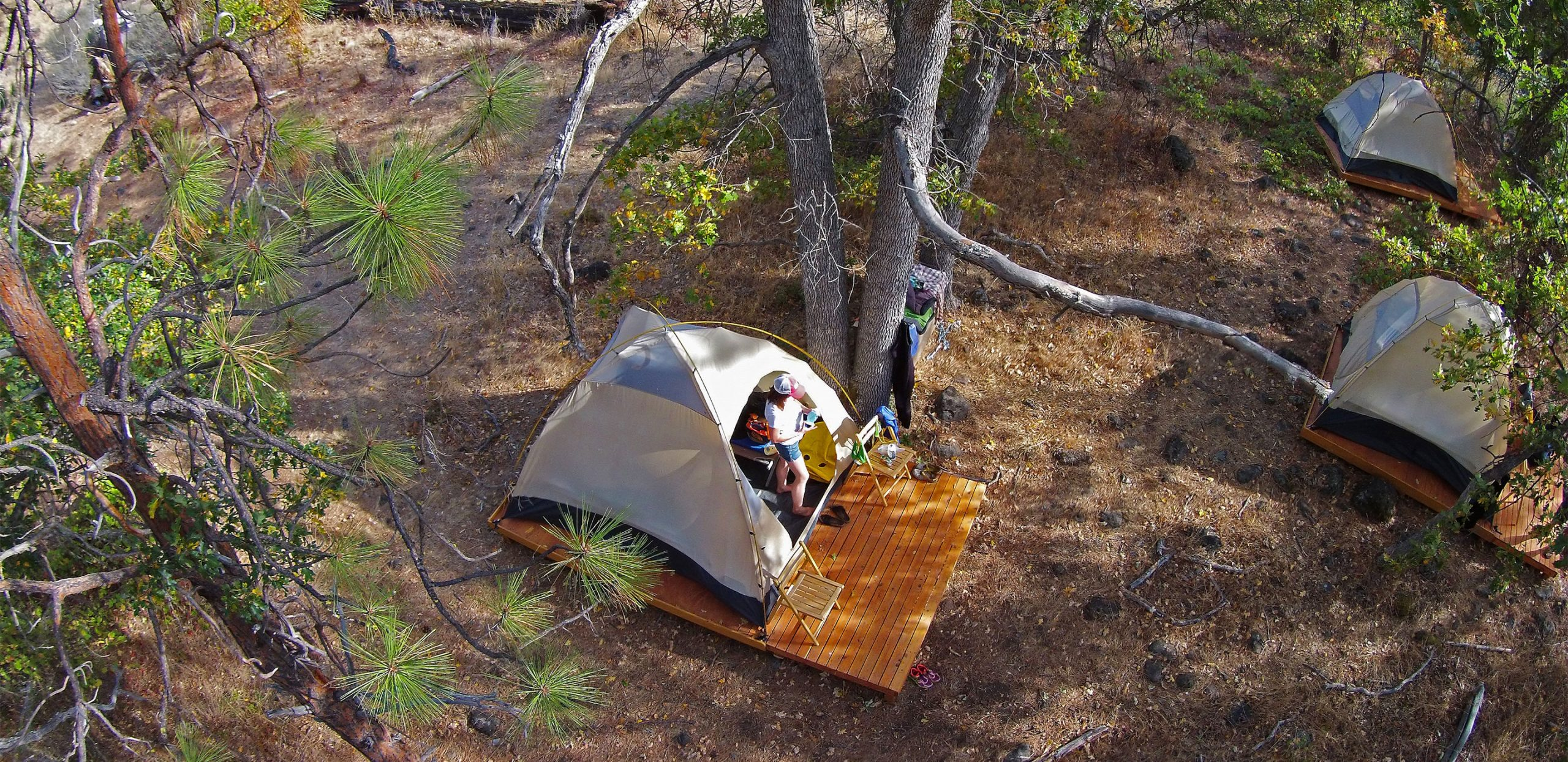 Upper Klamath Rafting Safari - Glamping - Tents