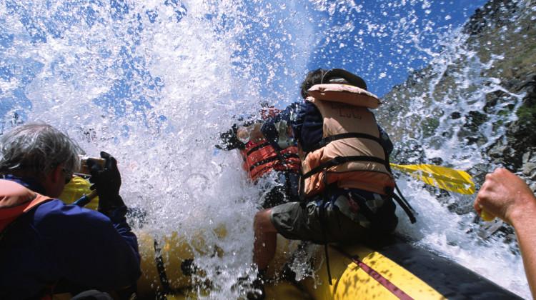 Idaho Salmon - Rafting the River of No Return. Big hit
