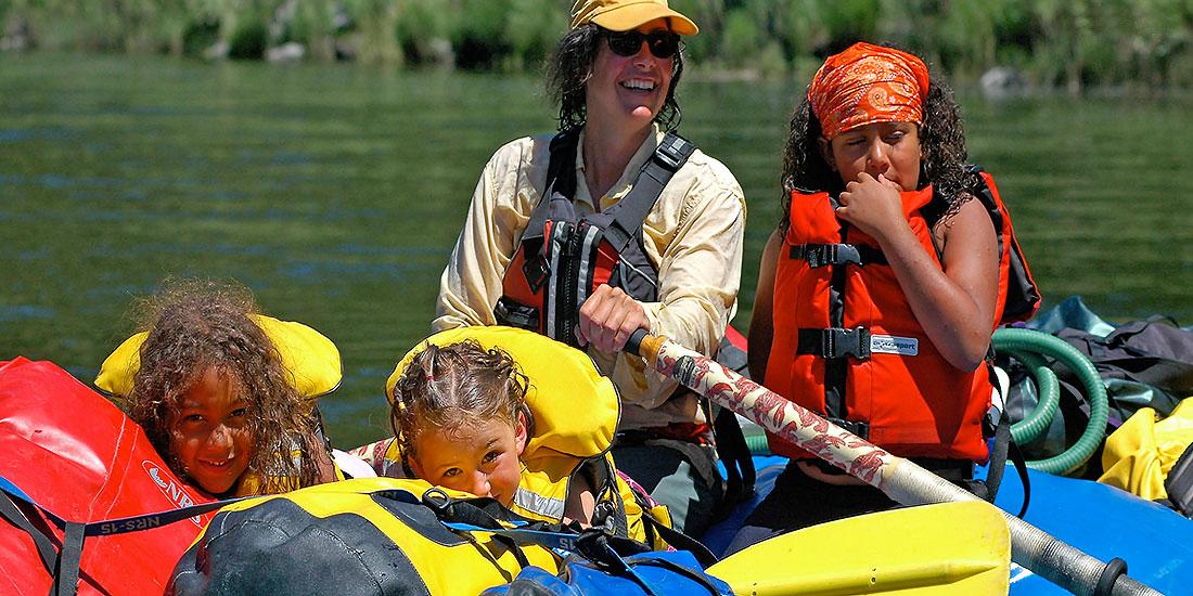 Lower Klamath River Rafting - California - Family