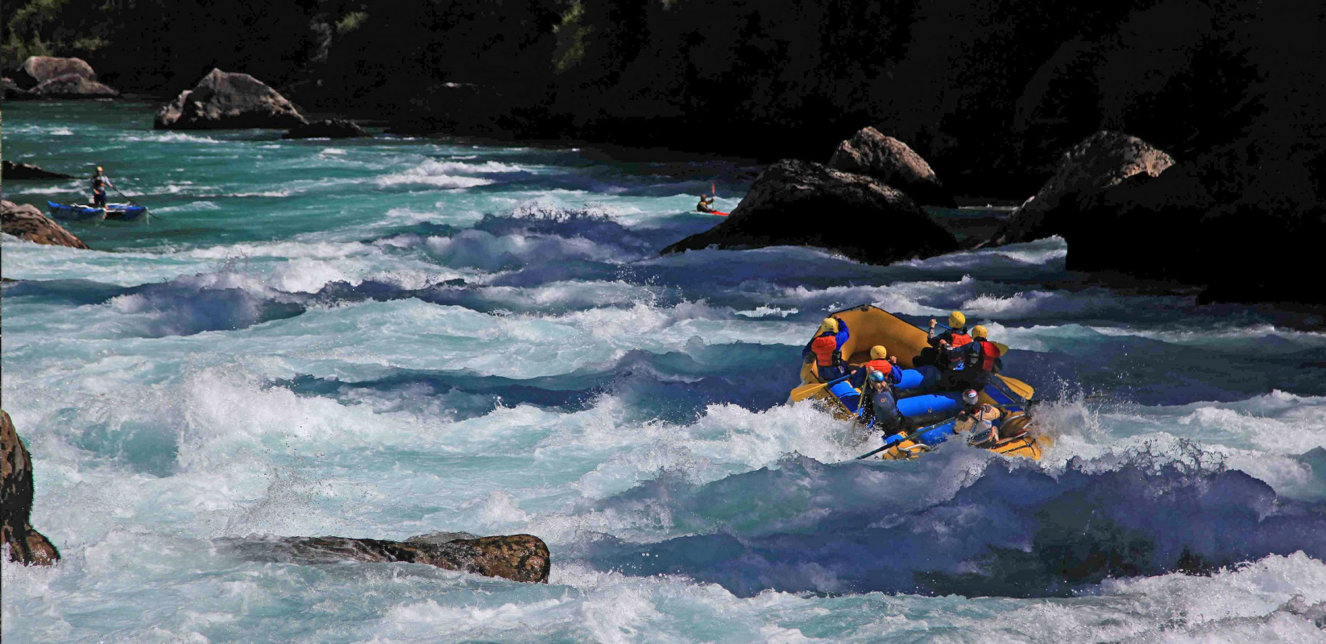 High Adventure Rafting - Rafting in Chile -