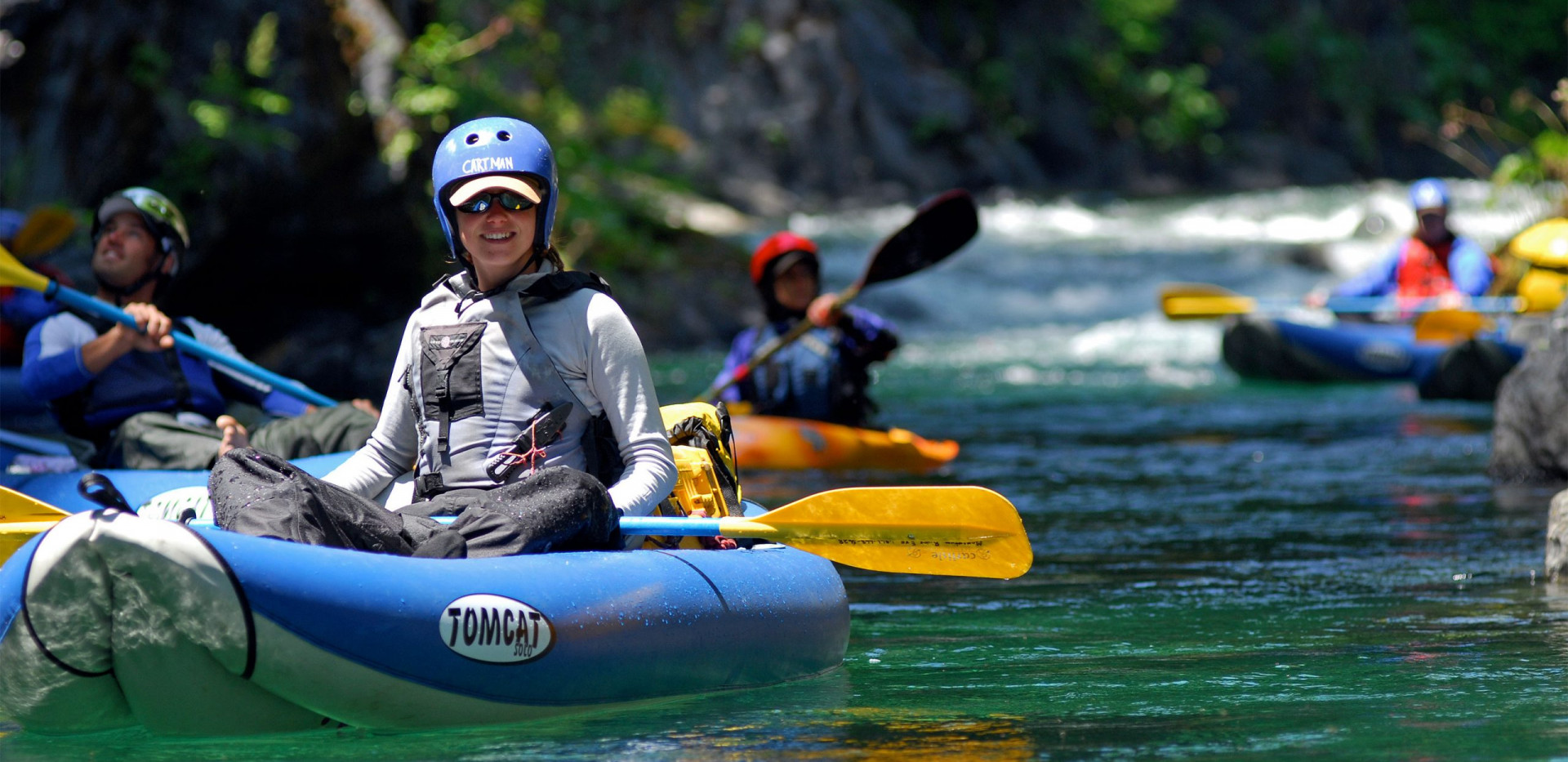 Clear Creek Kayaking - Northern California Rafting
