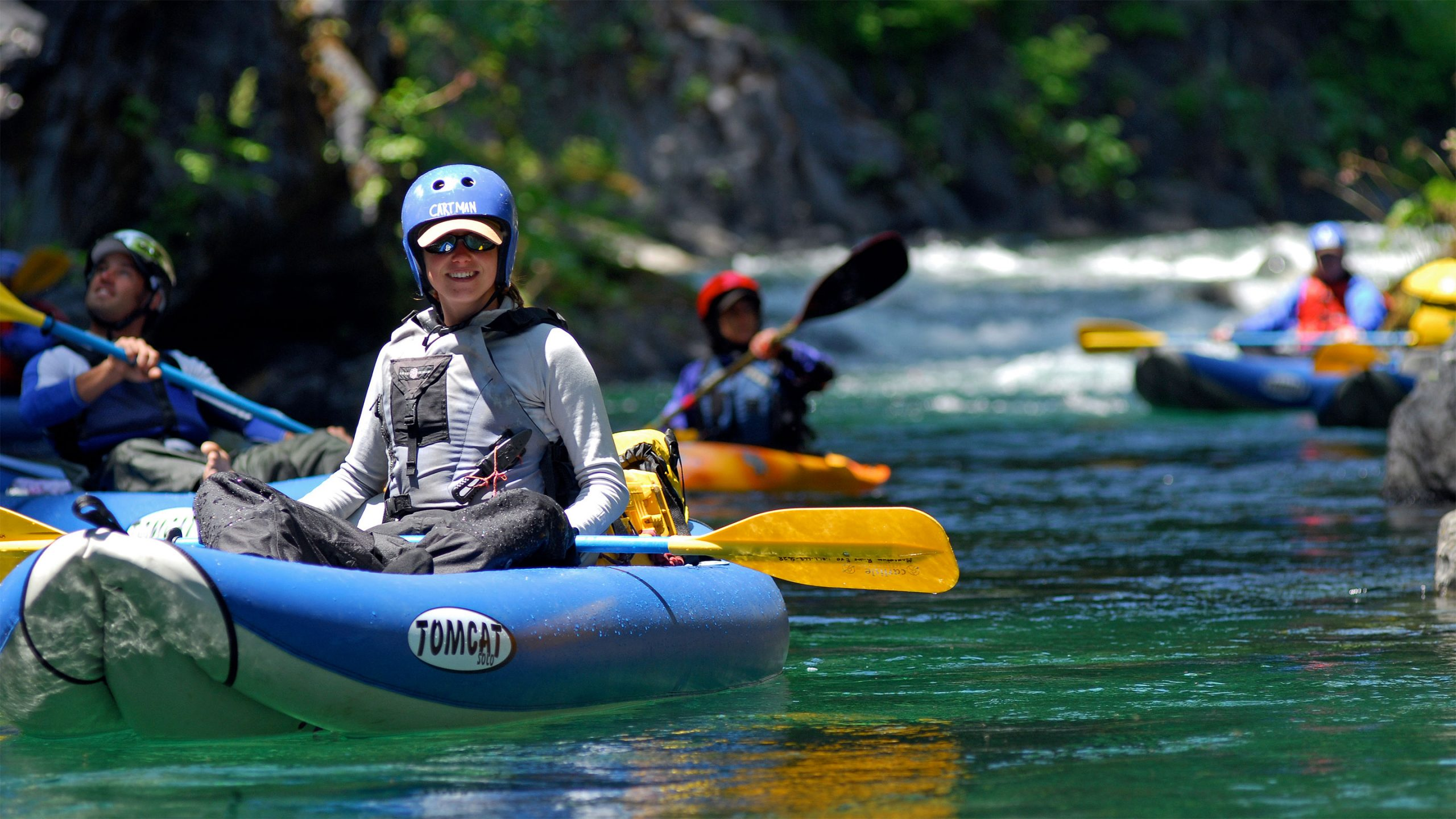 Clear Creek Kayaking - Northern California Rafting