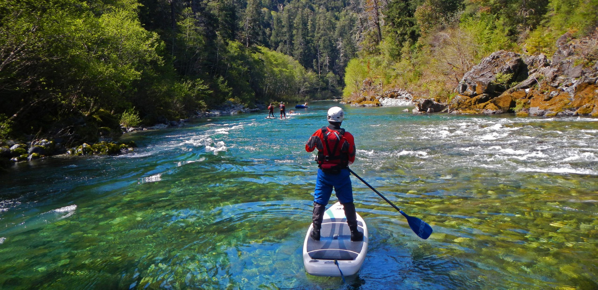 Smith River Kayaking - California - SUP - High Adventure Trips