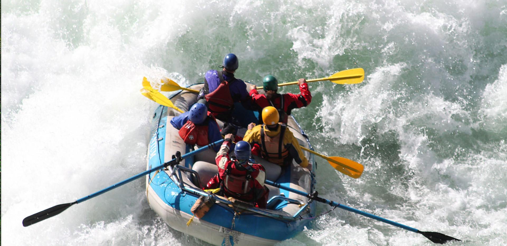High Adventure - California Salmon Rafting Safari -