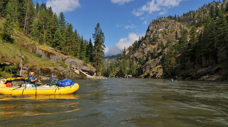 Idaho Salmon - Rafting the River of No Return - Idaho Rafting