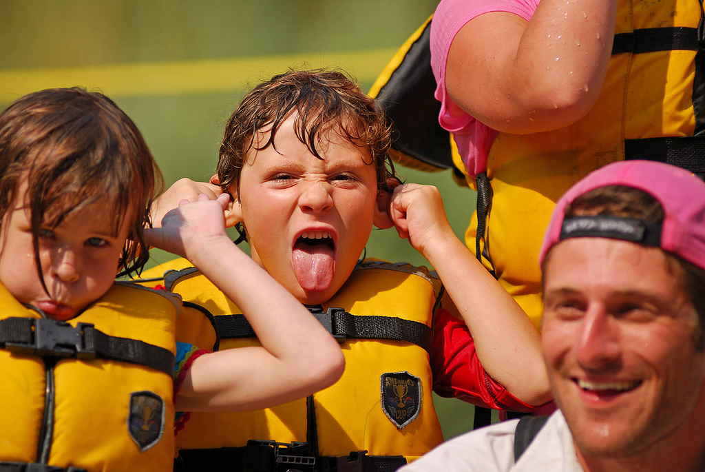 Rogue River Rafting - Oregon Rafting - Kids - Fun