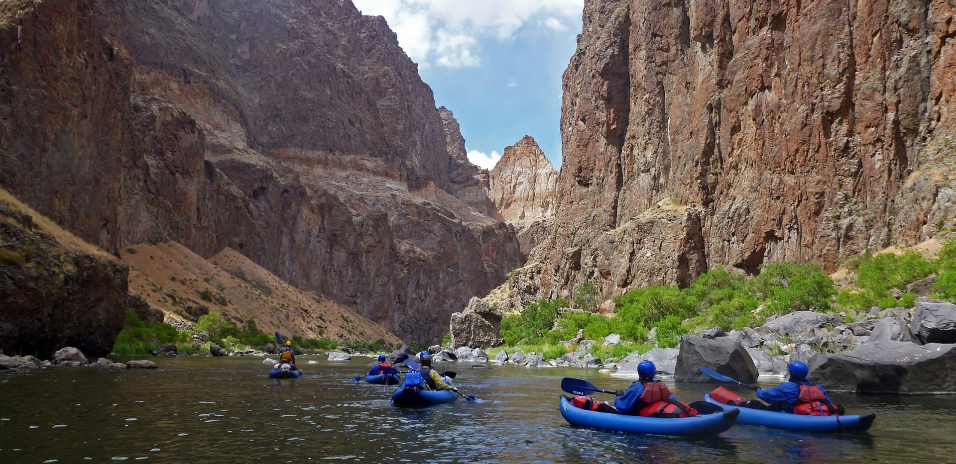 High Adventure Rafting - Lower Owyhee - Inflatable Kayaking