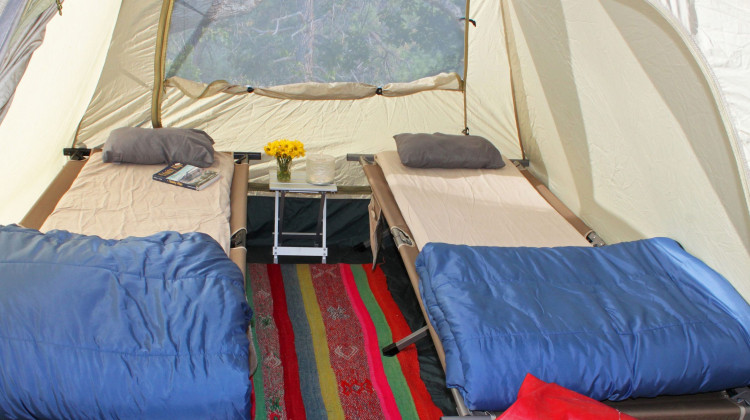 Luxury Camping and Glamping
