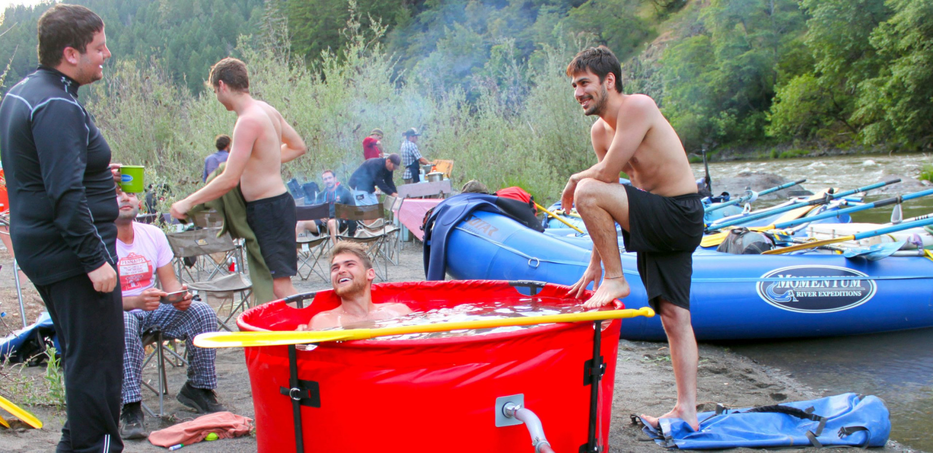 Hot Tub - Charter Trips - Glamping