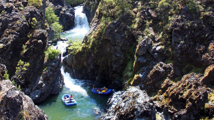 Stair Creek Falls on the Rogue River - Photo: Pete Wallstrom