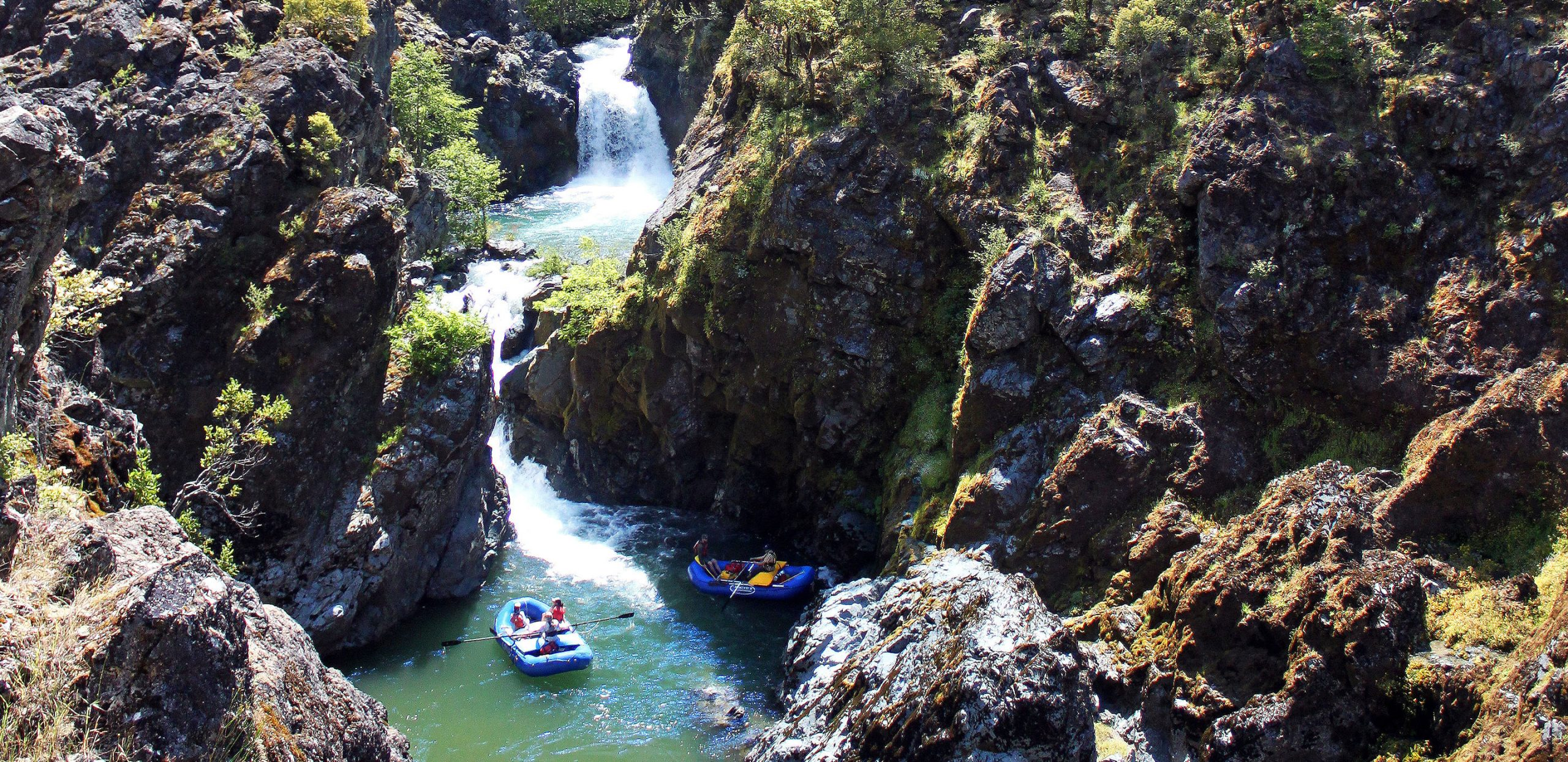 Rogue River Rafting - Oregon - Stair Creek Falls