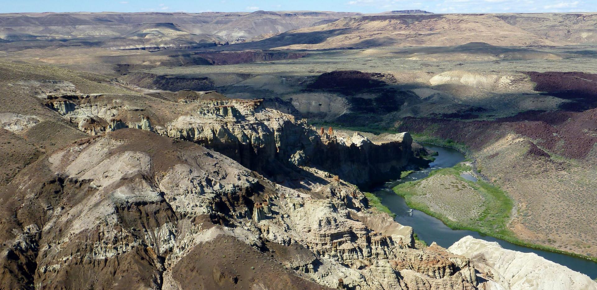 Chalk Basin - Owyhee River Rafting - Grand Canyon of Oregon