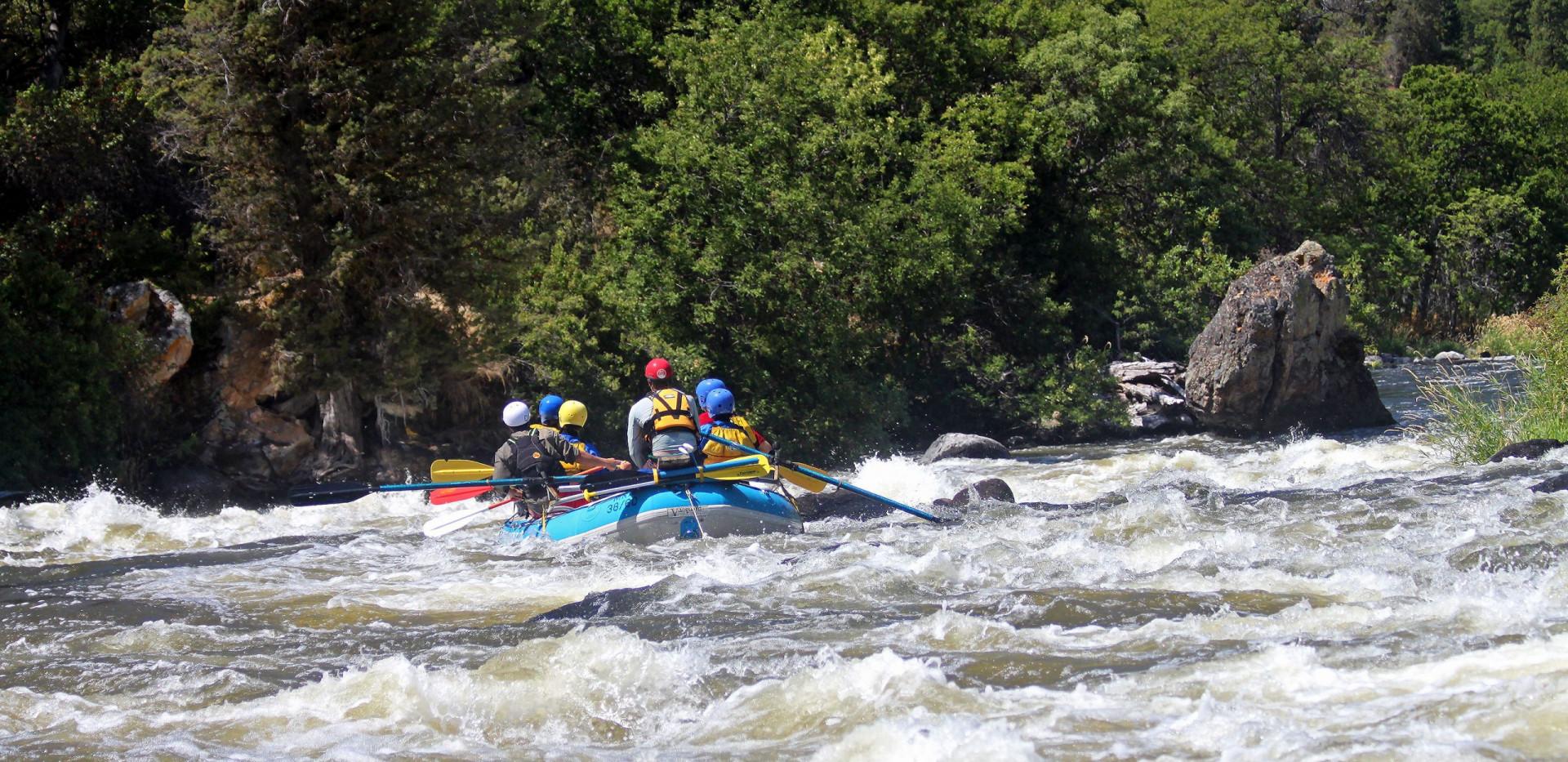 Upper Klamath River - Ambush Rapid - Rafting