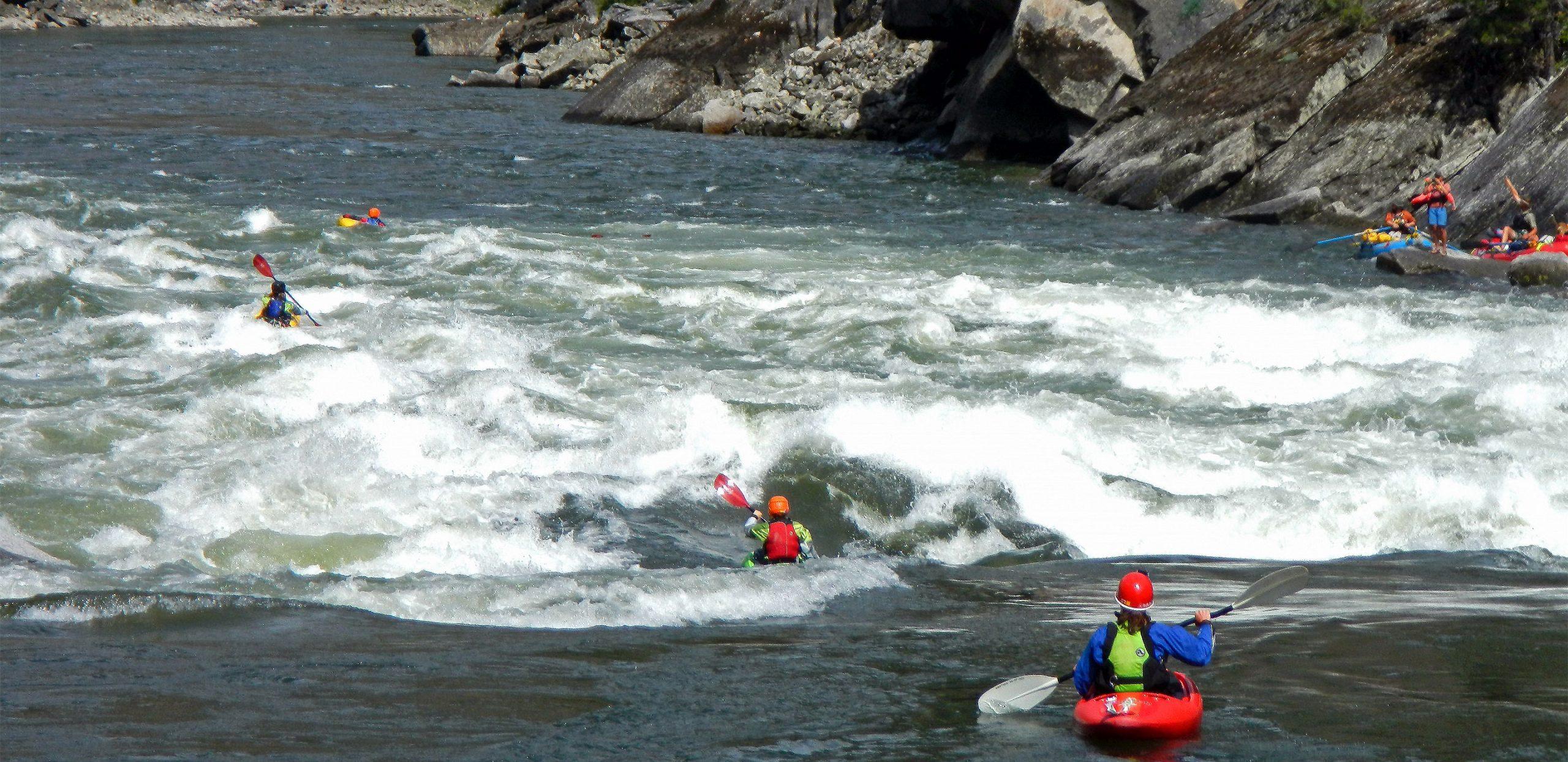DeRiemer Adventure Kayaking Trip