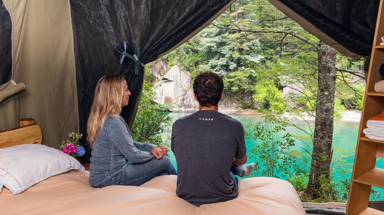 The Futaleufu Base Camp Safari Tents