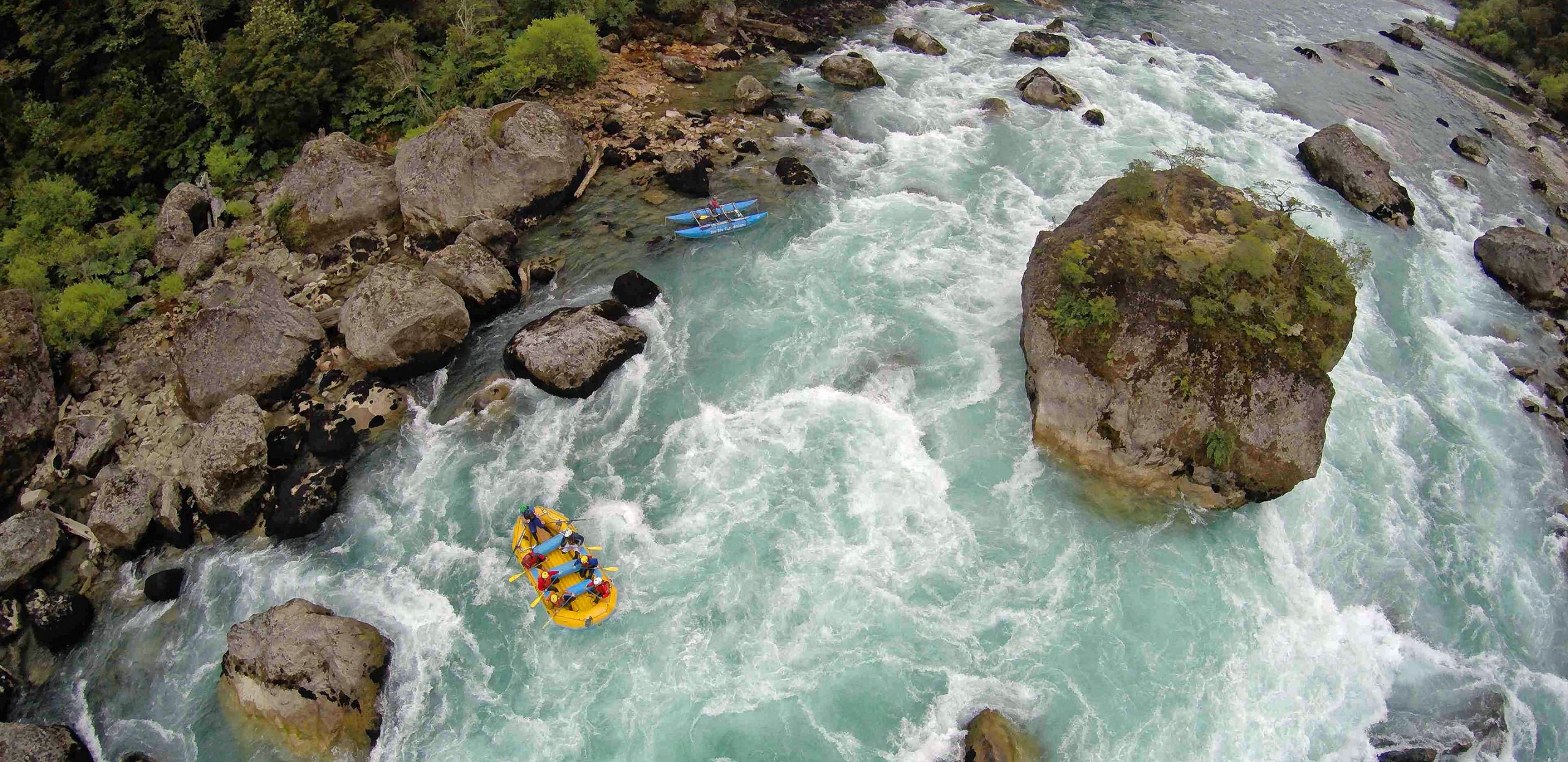 Rafting In Chile - Casa de Piedra