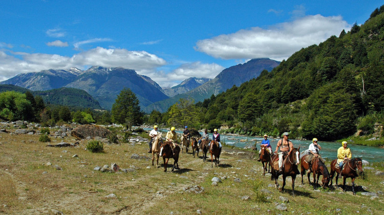 Horseback Riding - Rafting in Chile - Azul Valley