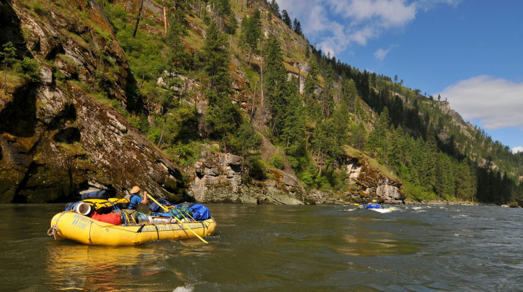 Idaho Salmon - Rafting the River of No Return