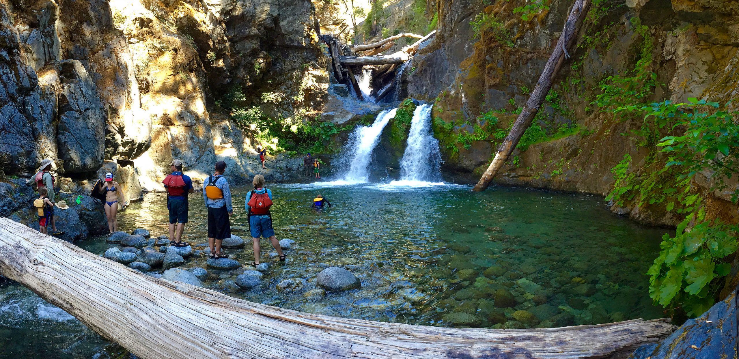Ukonom Falls - Lower Klamath River Rafting