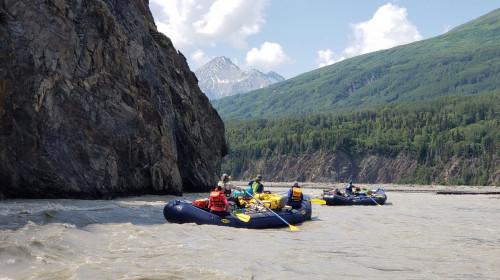 Tatshenshini River Rafting - Alaska - Alkie Confluence