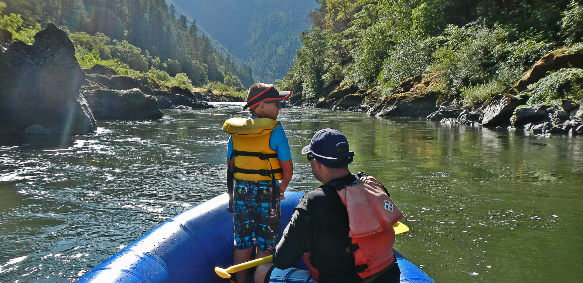 Family Rafting - Rogue River - Oregon