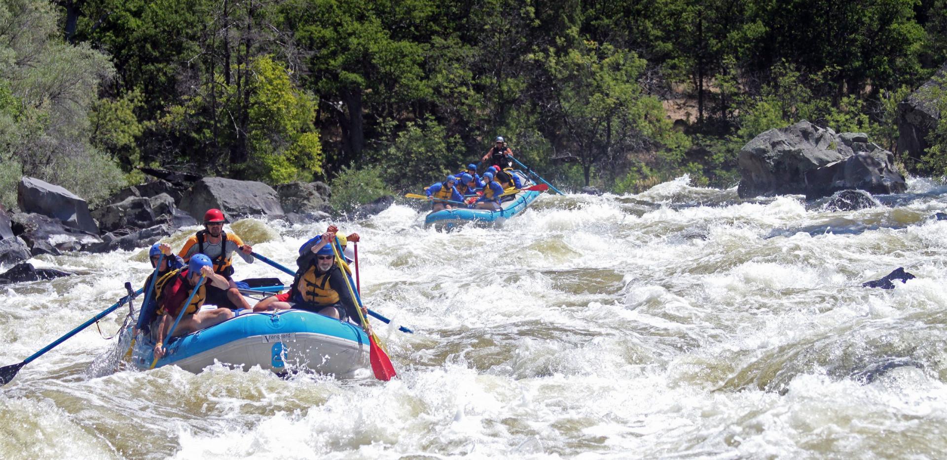 Upper Klamath River - Whitewater Rafting - Adventure