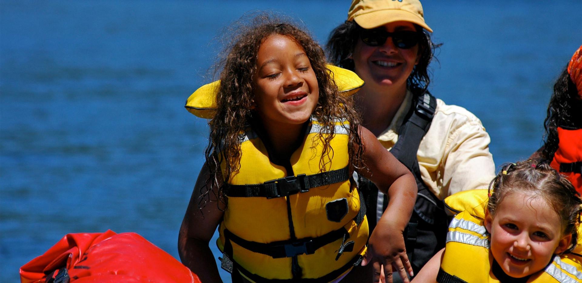 Idaho Salmon - Rafting the River of No Return - Kids