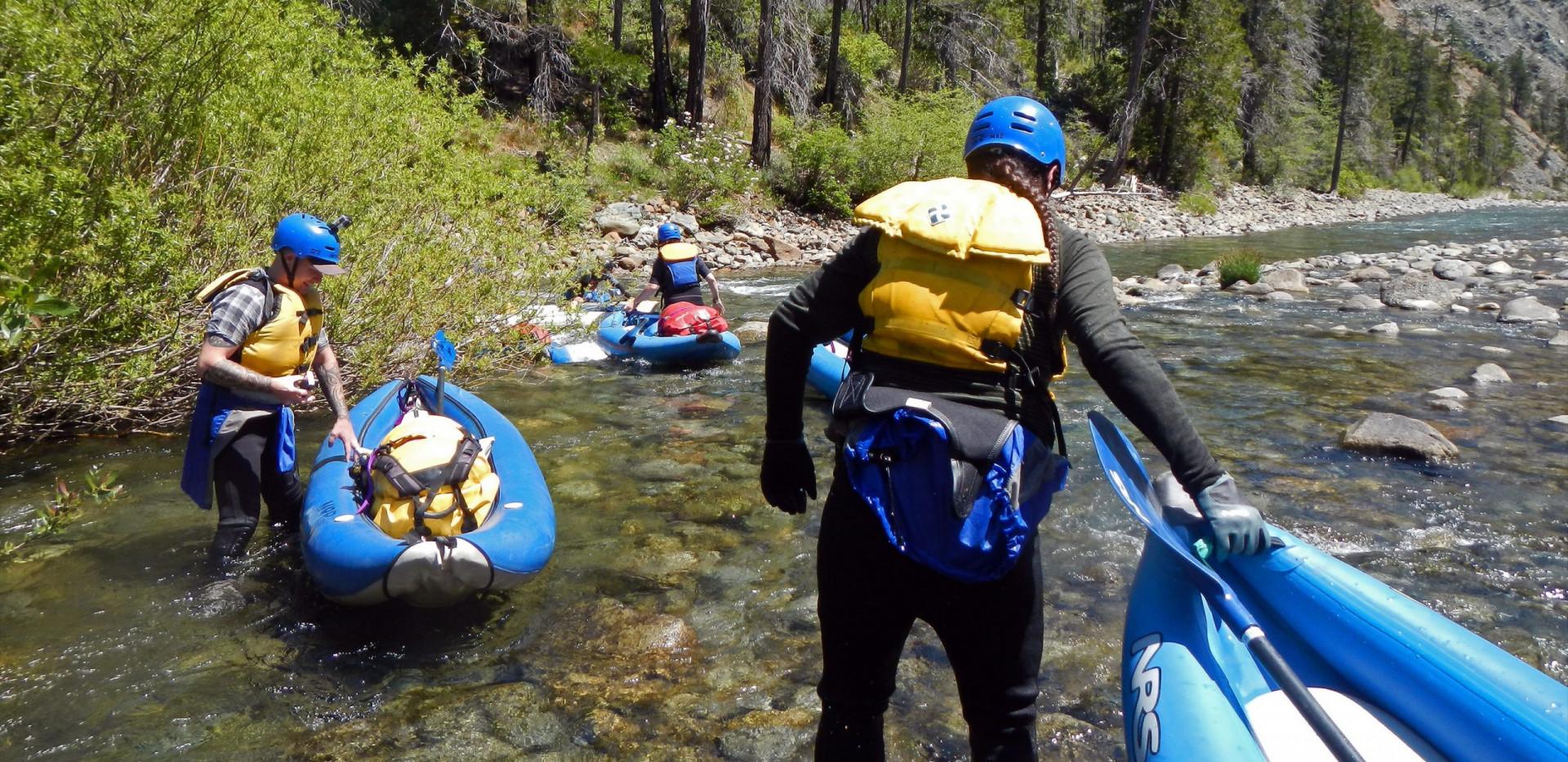 Smith River Kayaking - California