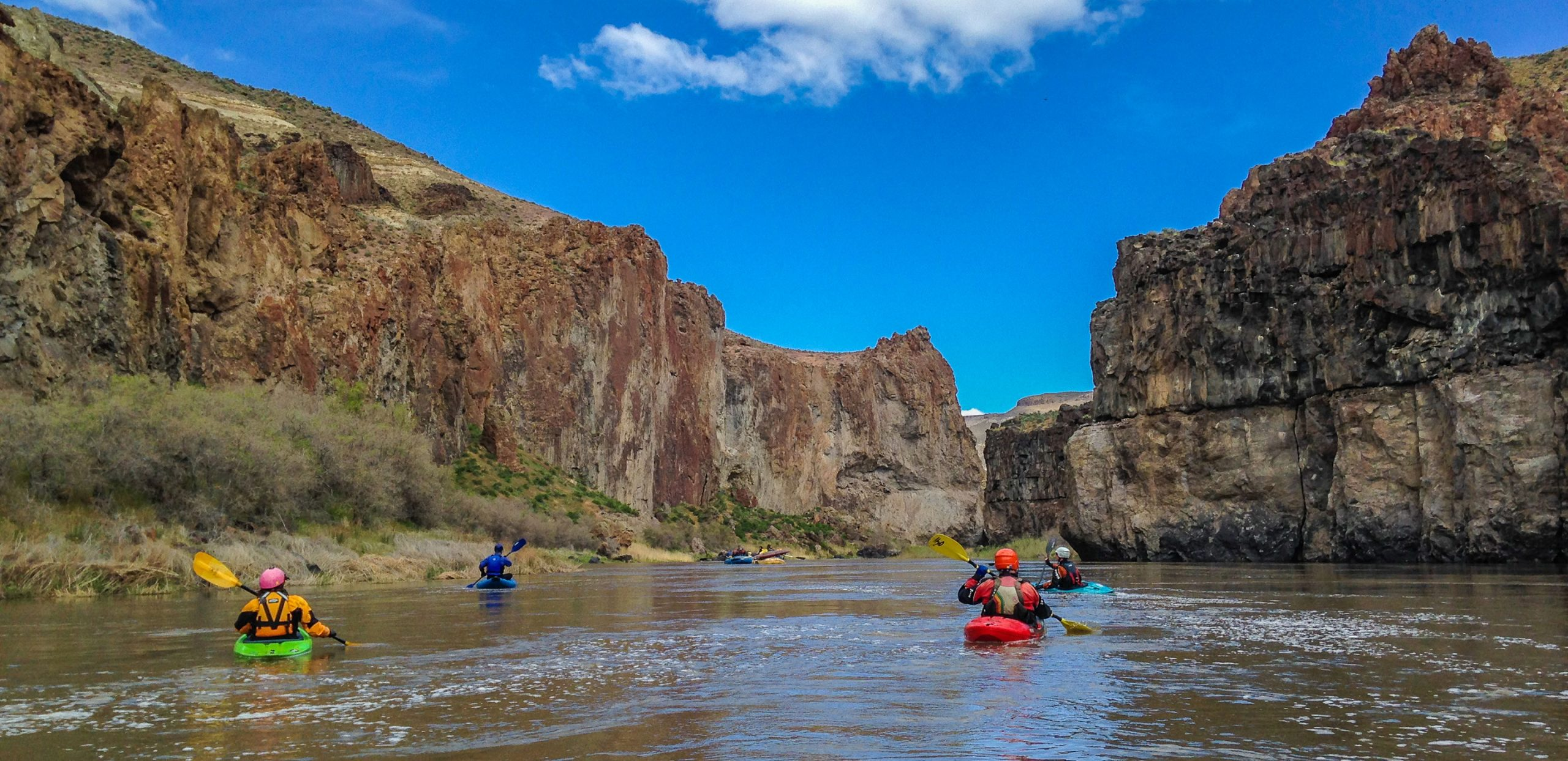 DeRiemer Adventure Kayaking Trip - Lower Owyhee River