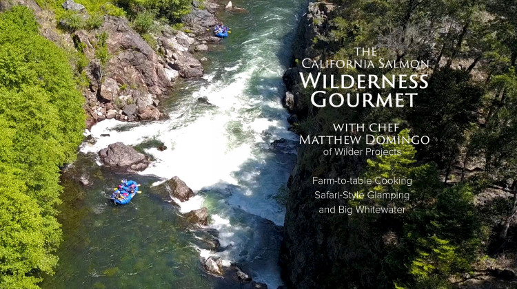 Wilderness Gourmet Rafting with Wilder Projects