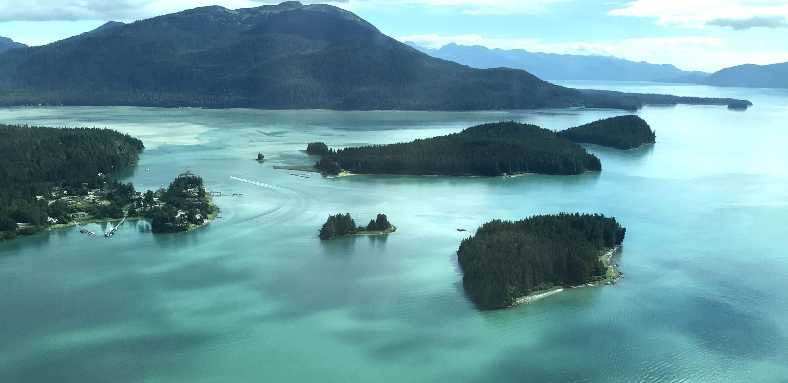 Tatshenshini River Rafting Alaska - Flight to Haines Alaska. Photo Erik Meldrum