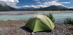 Tatshenshini - Alsek River Rafting - Camping at Melt Creek