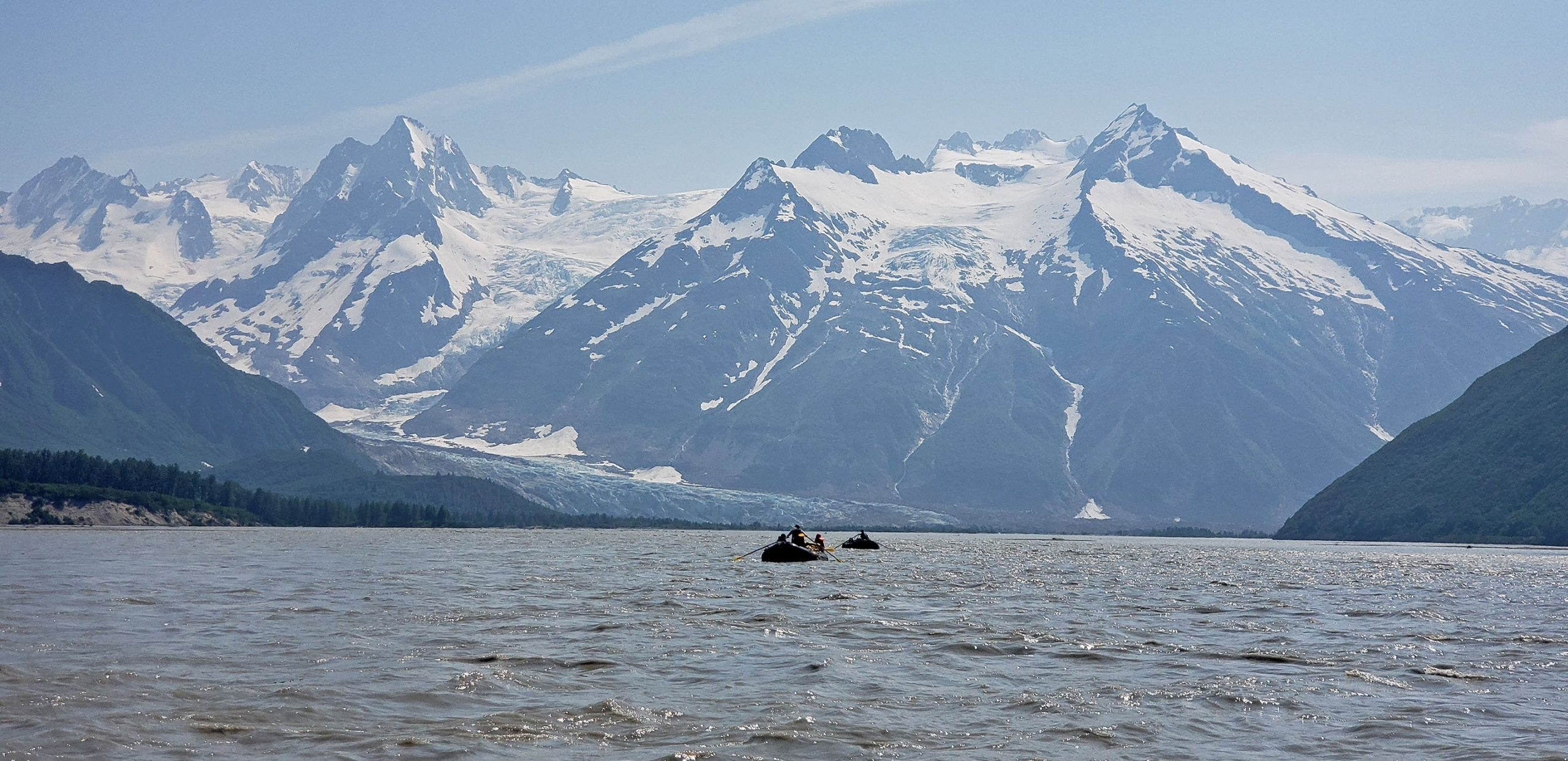 Floating to Walker Glacier - Rafting the Tatshenshini Alsek River