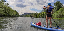 Rogue River Stand Up Paddleboarding